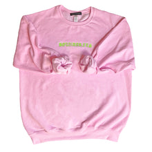 "Load image into Gallery viewer, ""BOUNDARIES"" SWEATER - PINK"