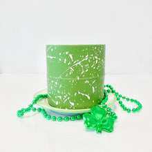"Load image into Gallery viewer, Smash Box Mini (4"") - Clover Green and White"