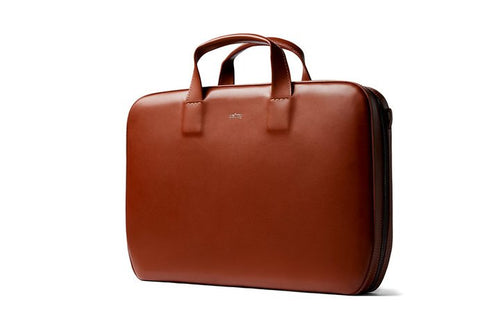 Bellroy laptop brief burnt sienna