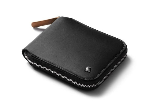 Bellroy zip wallet black