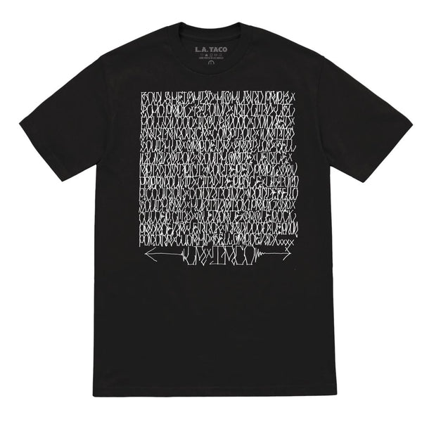 Neighborhood Roll Call T Shirt (Black)