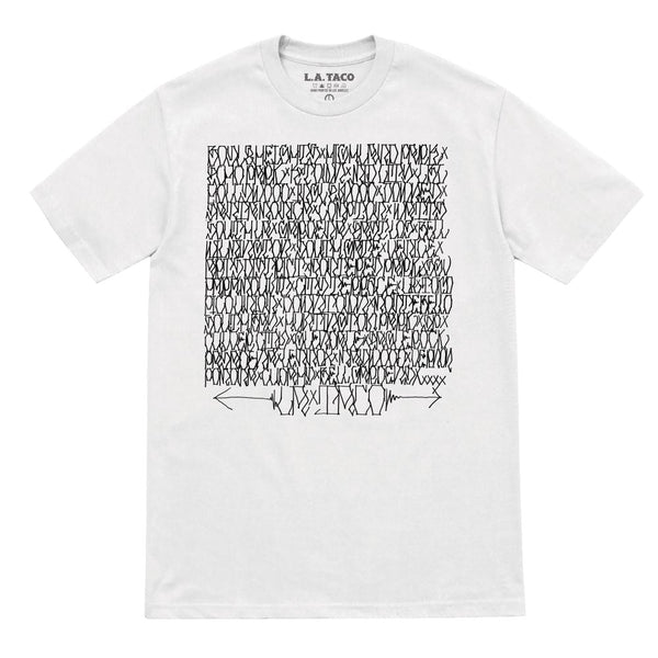 Neighborhood Roll Call T Shirt (White)