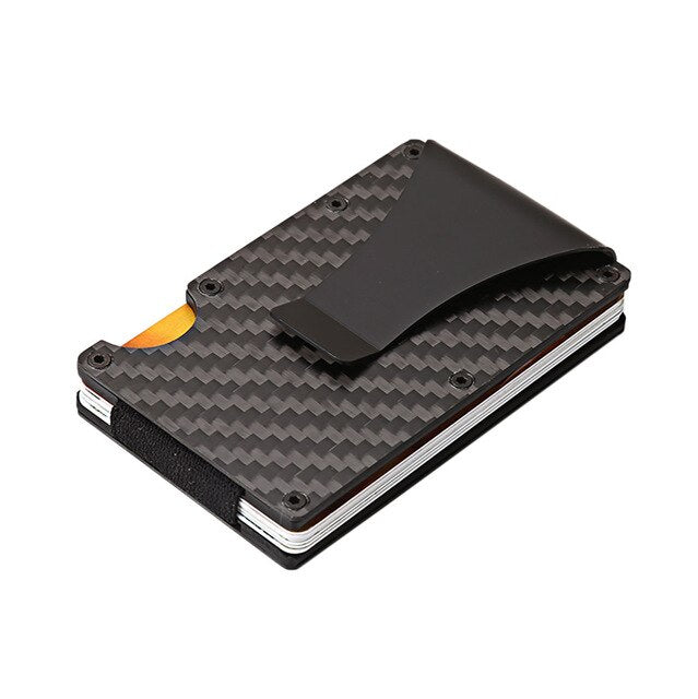 Tactical carbon fiber card holder