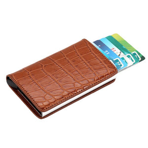 Vintage card holder wallet