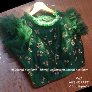 Designer Blouse with Maggam Work Design 347