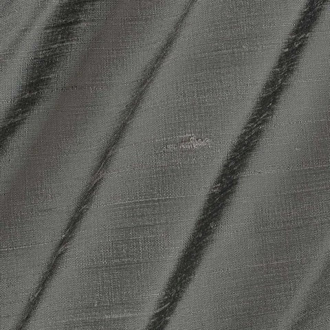 Pure Rawsilk 100 GM - Steel Grey Color Fabric - free home delivery
