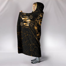Load image into Gallery viewer, Taurus Map Hooded Blanket