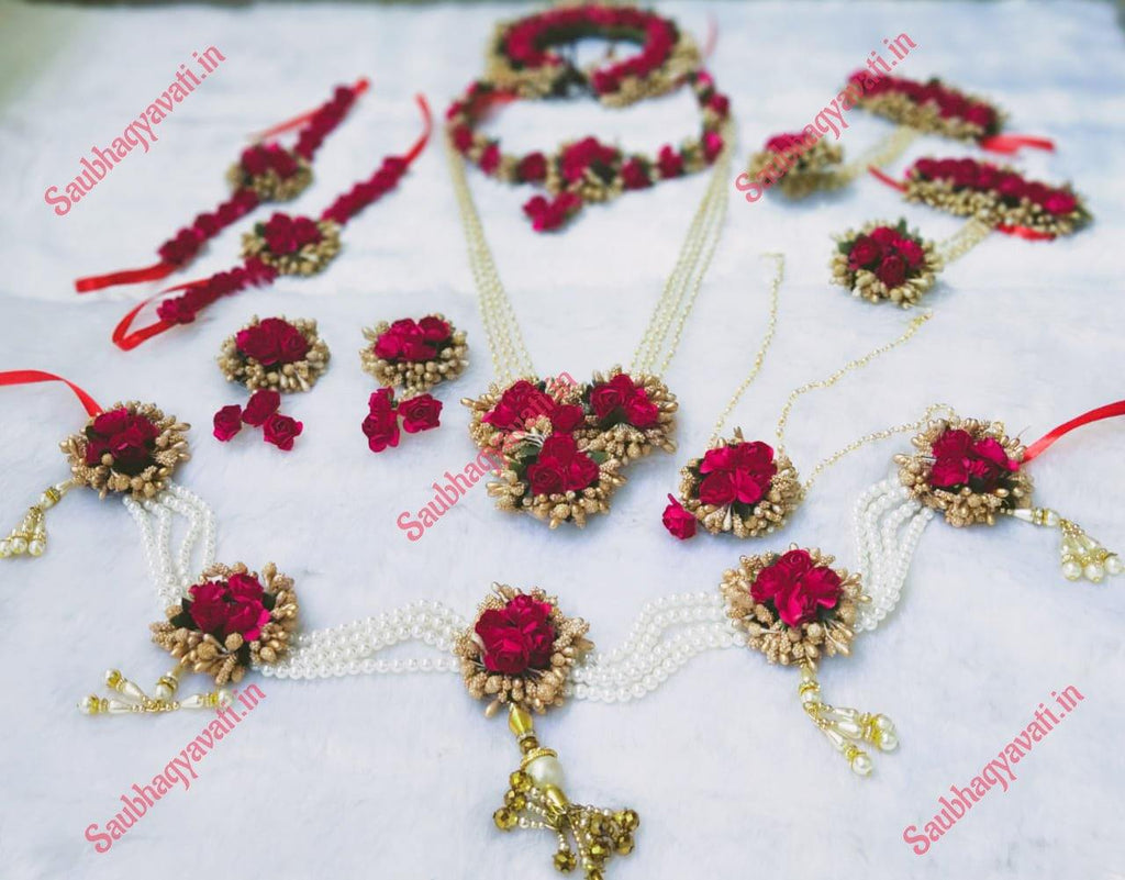 Red Flower Jeweller - Haldi & Baby Shower Jewellery - saubhagyavati.in