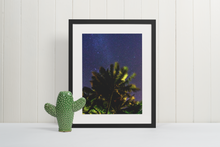 "Load image into Gallery viewer, ""Lunar Palms""- Ultra Premium Inkjet Print"