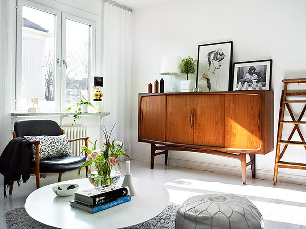 Mid century modern furniture in a victorian house how to get it