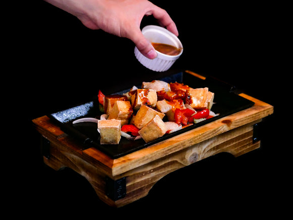 Teppan Tofu 鉄板豆腐 (temporarily weekend only)