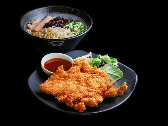 Crispy Chicken Cutlet Ramen 雞排拉麵