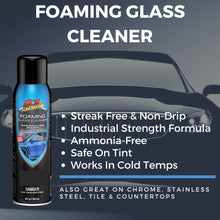Load image into Gallery viewer, Foaming Glass Cleaner - 18.2 oz. - Dry Shine USA