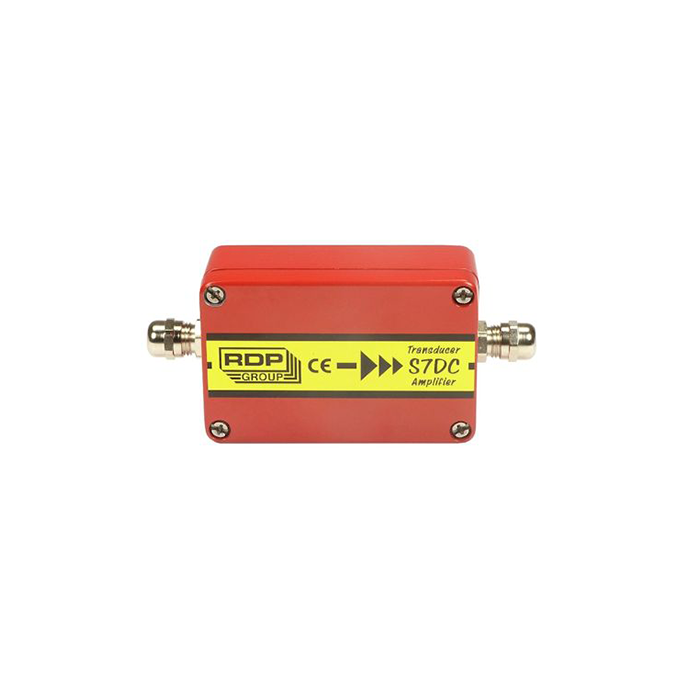 S7DC dc powered strain gauge transducer amplifier