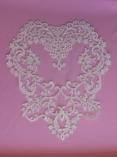 Load image into Gallery viewer, Ivory Corded Lace Applique - Snowdrop