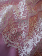 Load image into Gallery viewer, Ivory Raschel Lace - Maverick