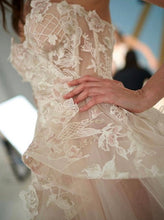 Load image into Gallery viewer, Ivory & Blush Lace - Antonella