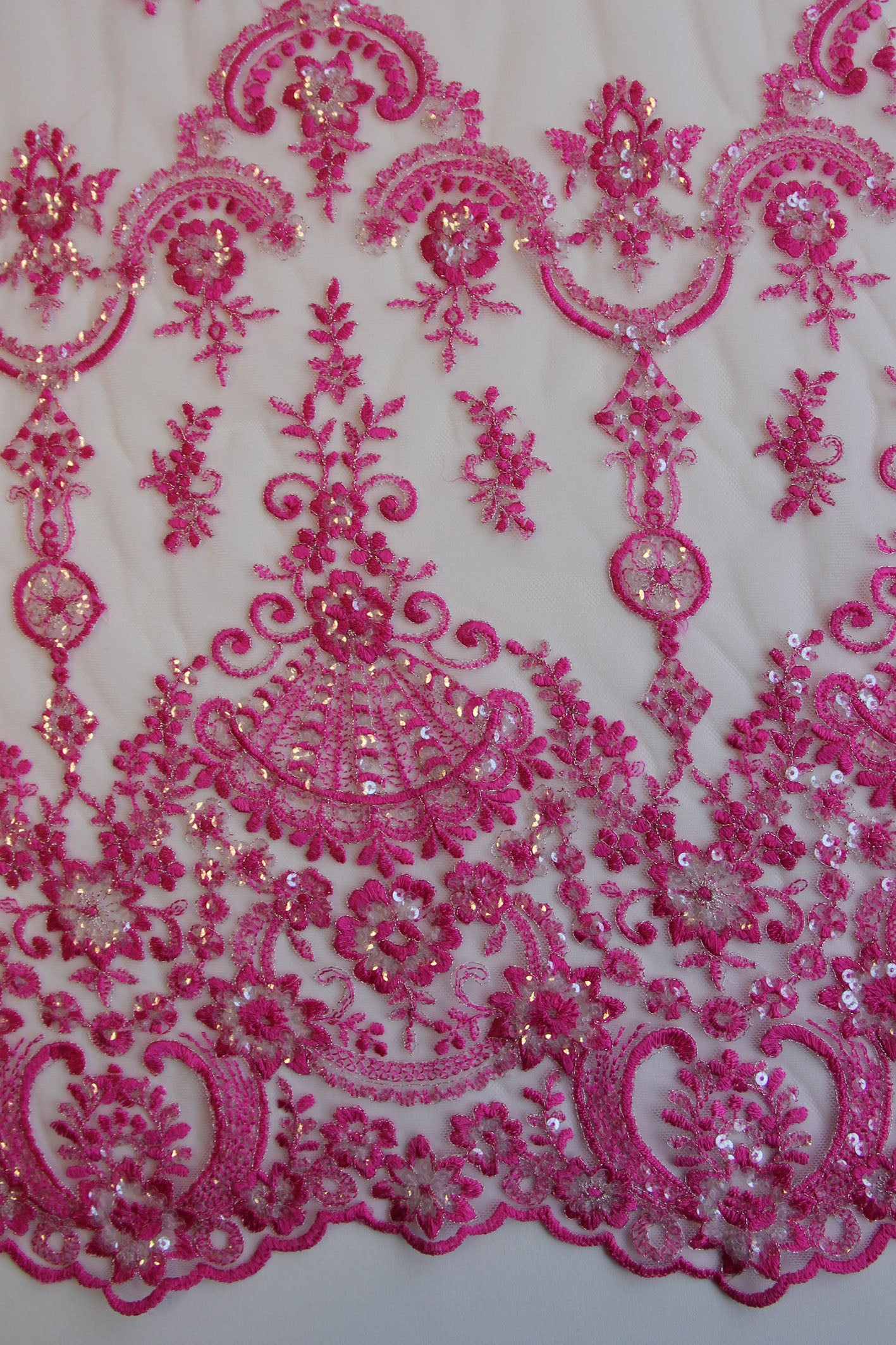 Candy Pink Lace - Ruby.