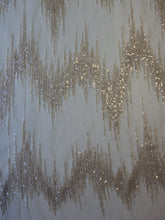 Load image into Gallery viewer, Champagne Sequinned Tulle - Twilight