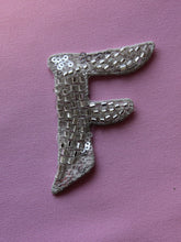 Load image into Gallery viewer, Beaded Letter F