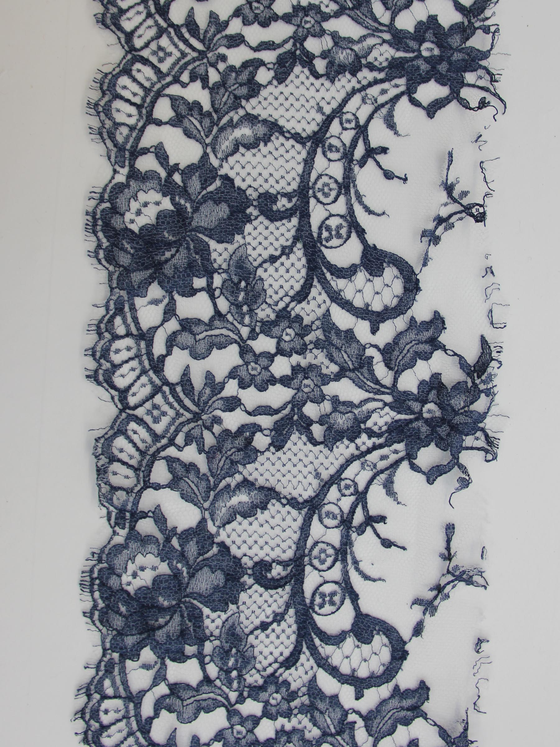 French Blue Lace Trim - Kate.