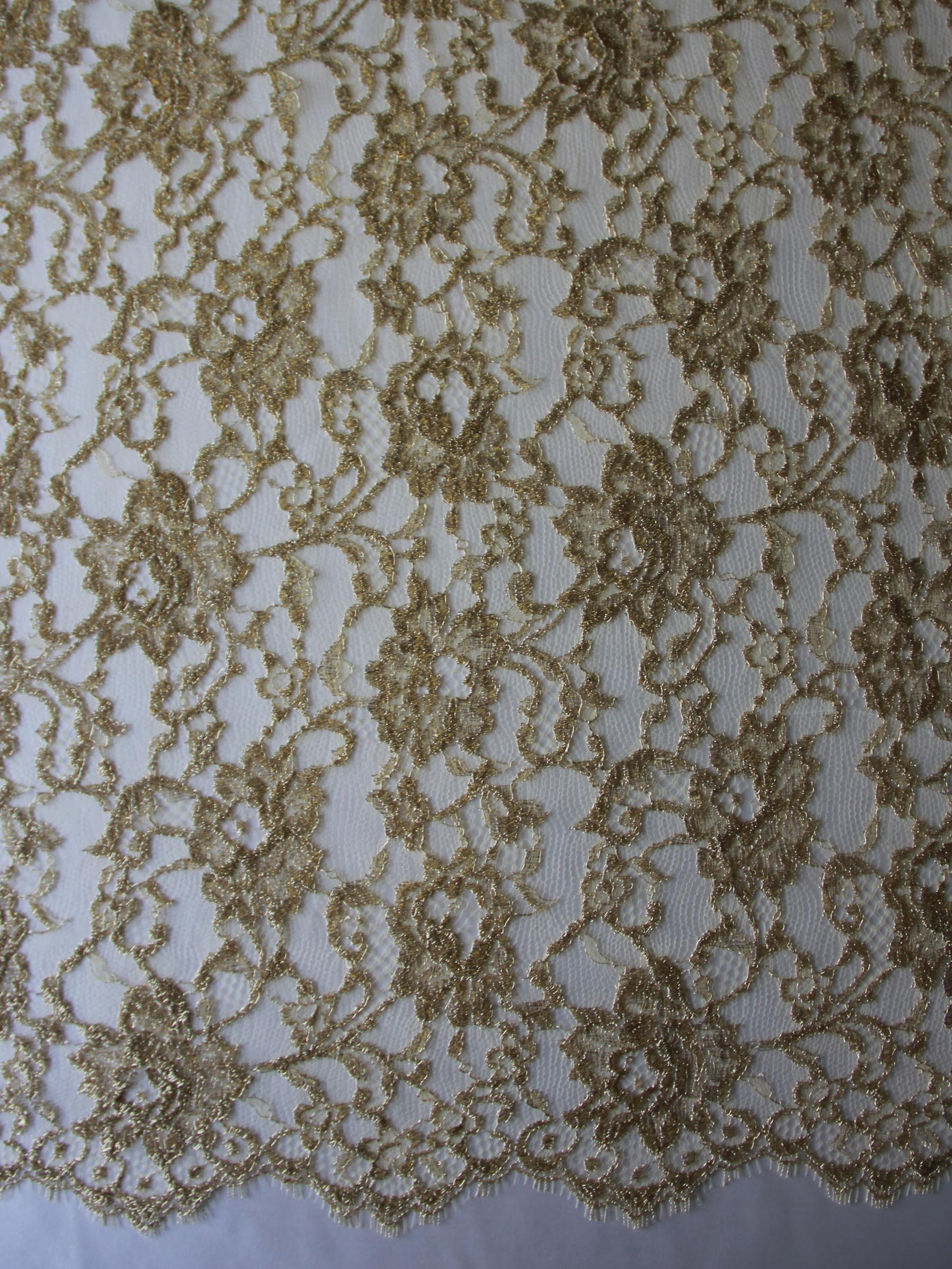 Gold Chantilly Lace - Orkney