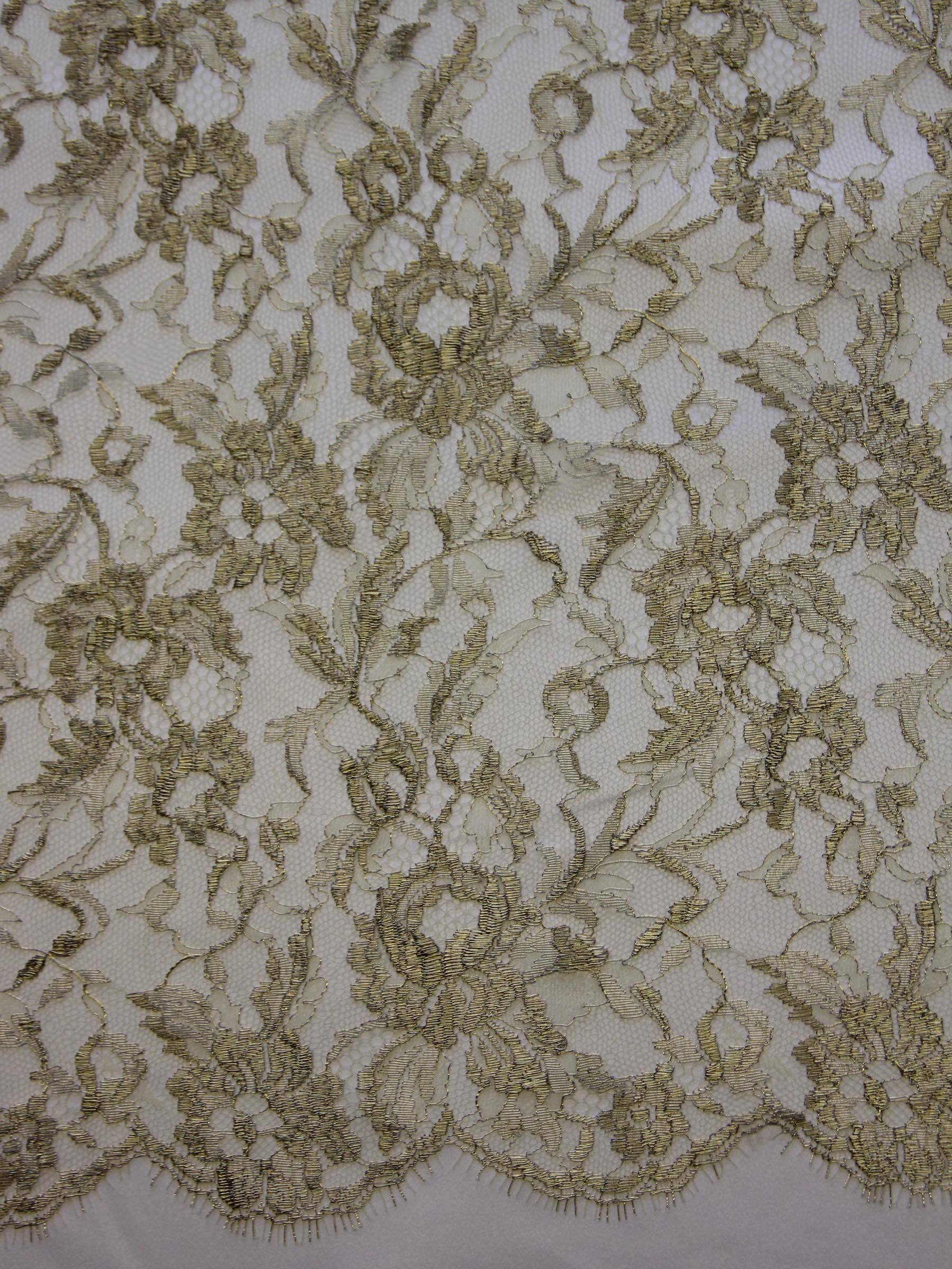 Gold Chantilly Lace - Orla