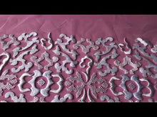Load and play video in Gallery viewer, Ivory Embroidery Lace - Ashlyn