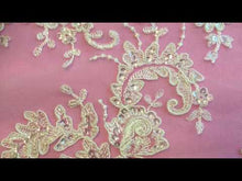 Load and play video in Gallery viewer, Ivory Beaded Lace - Anoushka