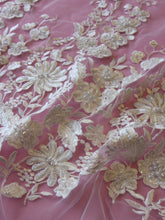 Load image into Gallery viewer, Ivory Beaded Lace - Briar