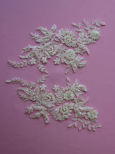 Load image into Gallery viewer, Ivory Beaded Lace Appliques - Nicole