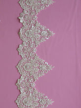 Load image into Gallery viewer, Ivory Beaded Lace Trim - Hazel