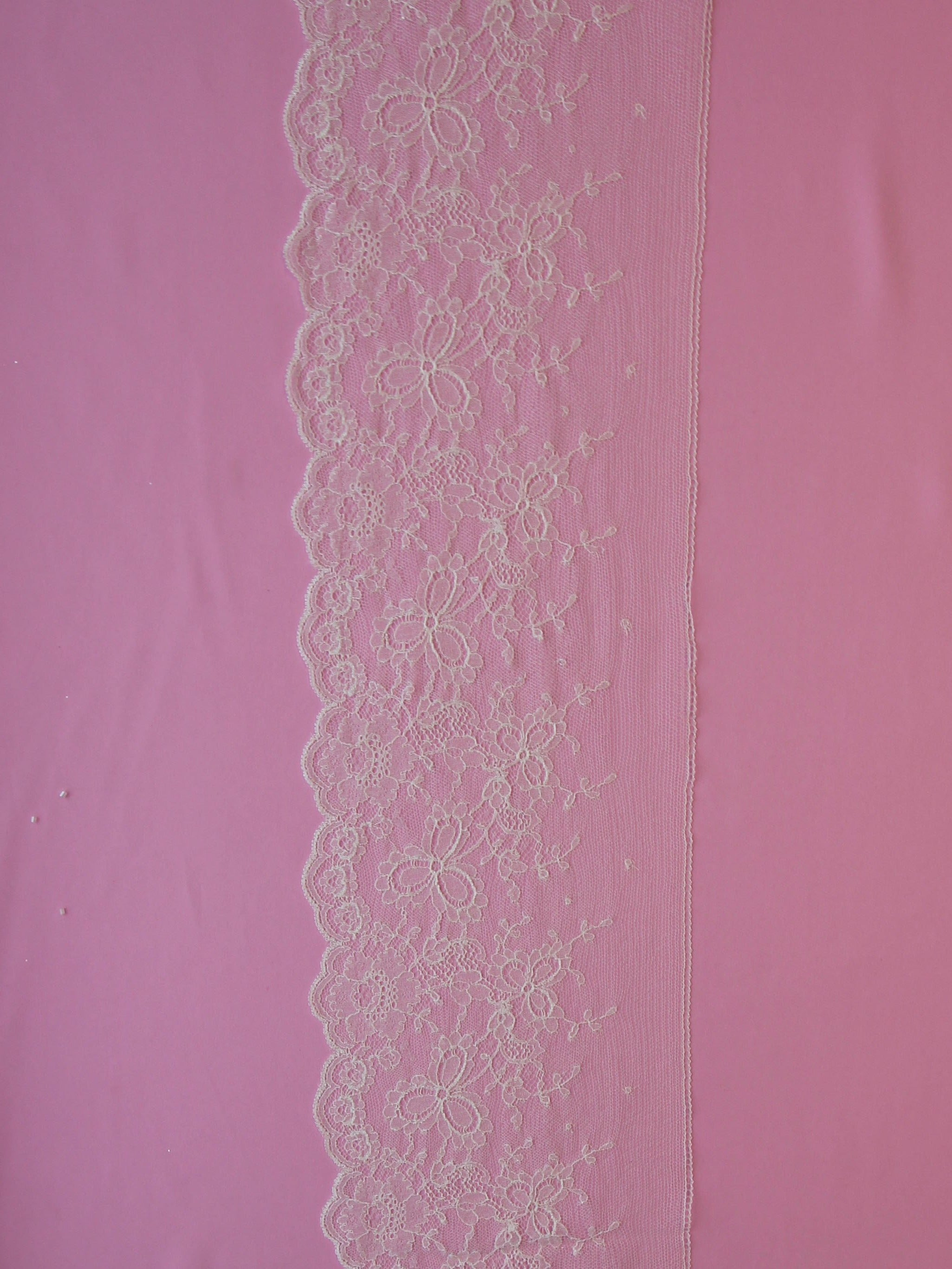 Ivory Chantilly Lace Trim - Pastelle