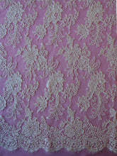 Load image into Gallery viewer, Ivory Corded Chantilly Lace - Thea