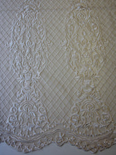 Load image into Gallery viewer, Champagne Embroidered Lace - Victory