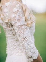 Load image into Gallery viewer, Ivory Embroidered Lace - Renée