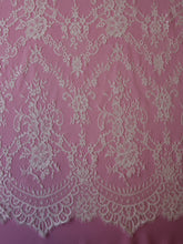 Load image into Gallery viewer, Ivory Raschel Lace - Holly
