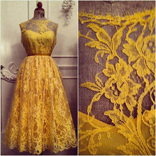 Load image into Gallery viewer, Yellow Lace Trim - Kate.