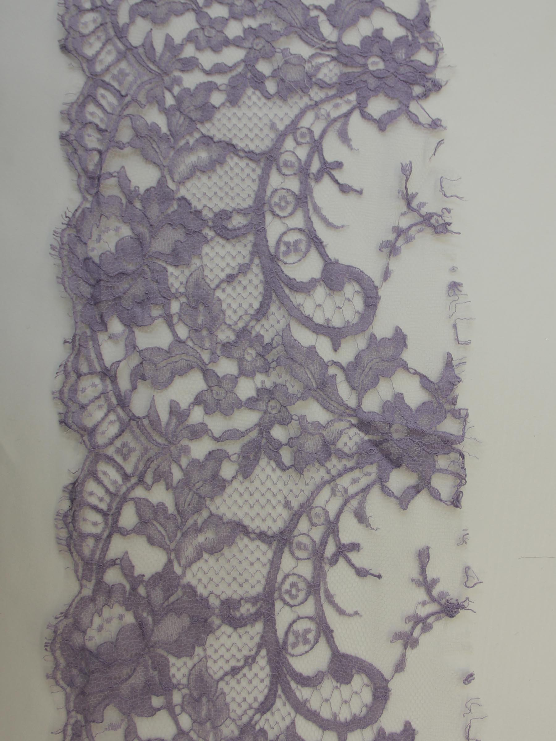 Lilac Lace Trim - Kate.