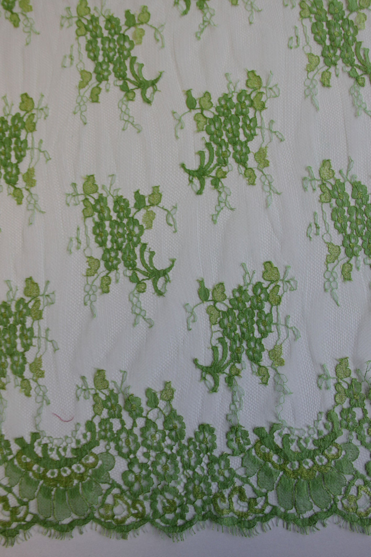 Lime Green Lace - Lillian.