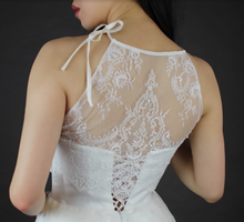 Load image into Gallery viewer, Ivory Raschel Lace – Madison
