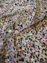 Load image into Gallery viewer, Multi-colour Sequinned Tulle – Delice