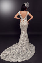 Load image into Gallery viewer, Ivory Beaded Lace - Jodie