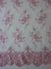 Load image into Gallery viewer, Pink Embroidered Lace - Kirsty