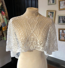 Load image into Gallery viewer, Ivory Beaded Lace - Love