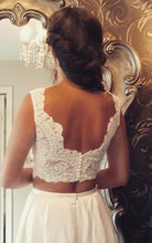 Load image into Gallery viewer, Ivory Corded Lace - Amelia