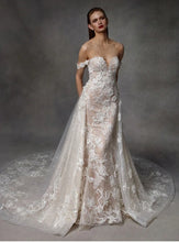 Load image into Gallery viewer, Ivory Embroidered Lace - Keegan
