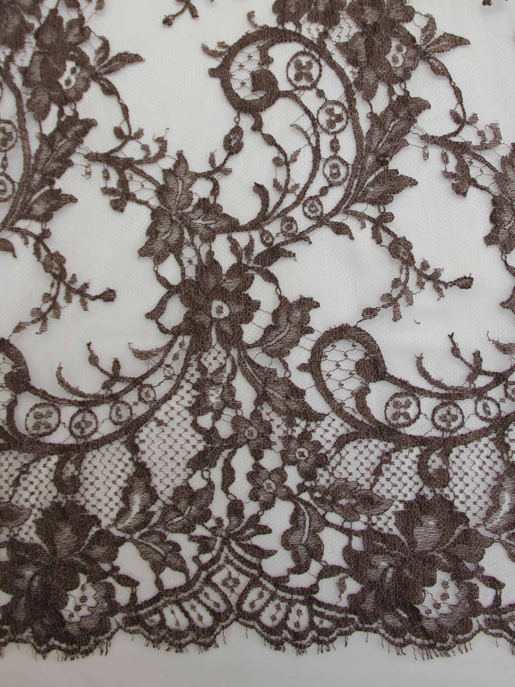Woodland Brown Lace - Kate.