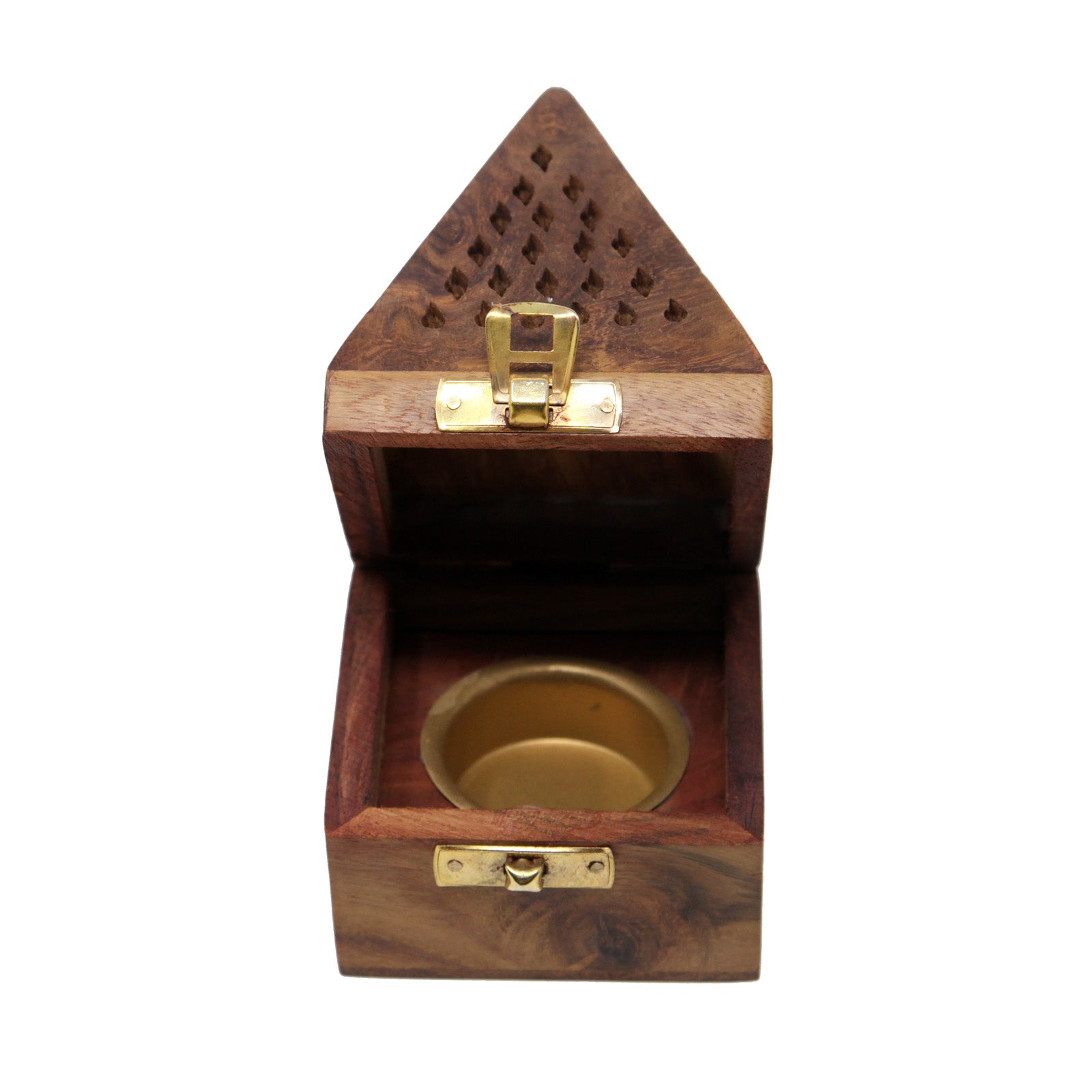 Small Wooden Incense Burner