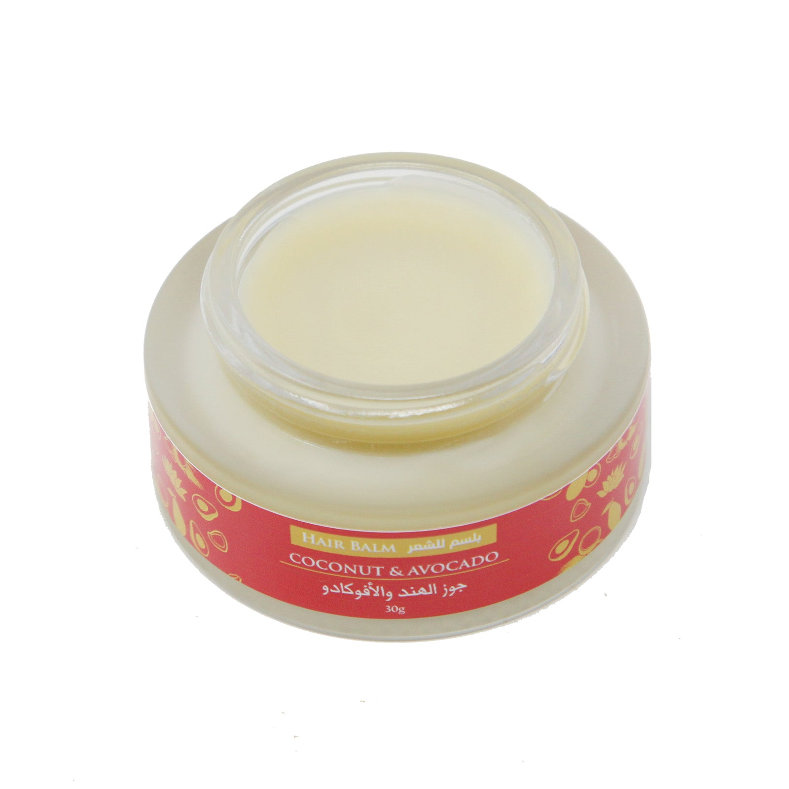 Coconut and Avocado Hair Balm - 30g